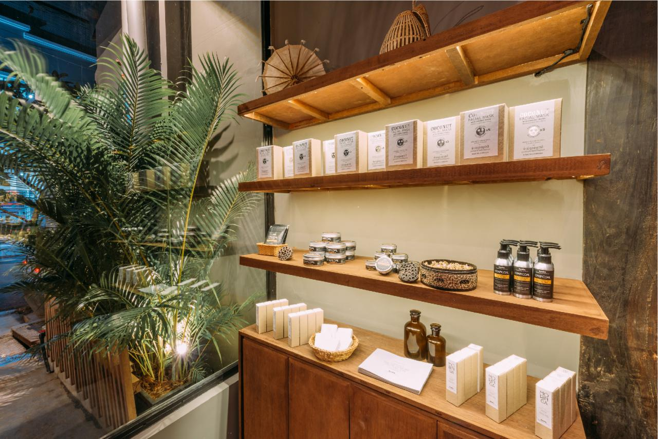 Bodia Spa BKK1_Shelve Products
