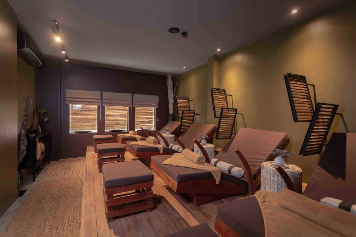 Bodia Spa Alley West Foot Massage Room
