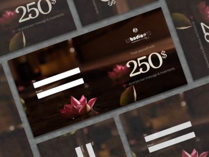 Gift card 250$